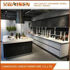 lacquered glass kitchen cabinets china hangzhou kitchen cabinet factory white glossy lacquer
