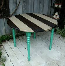 Table Up Best 25 Painted Round Tables Ideas On Pinterest Painted Oak