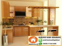 Jual Sho Metal Di Bogor jual custom kitchen set mini bar murah di bogor jual kitchen set