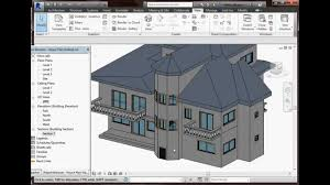 Cad House Plans by Autodesk Revit 2015 House Plan Youtube