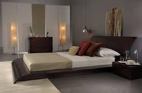 Modern Platform Bed With Lights - bedroom mesmerizing ideas for bedroom design with light walnut