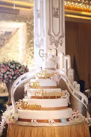 wedding cake murah jakarta glenn wedding by portraiture bridestory