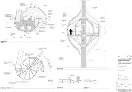 antique tree house plan also tree house plan octagon tree house