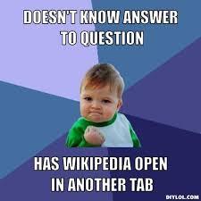 Wiki Meme - week 4 wikipedia maddison tanner