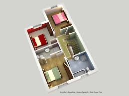 3d ground floor plan house type 5 u2013 earlsfort