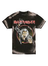 eddie halloween horror nights iron maiden eddie hook bleached t shirt topic