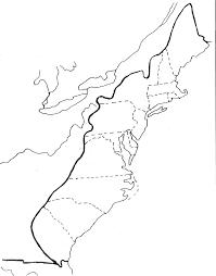 Thirteen Colonies Map 7th Grade Ms Baillargeon U0027s Classes