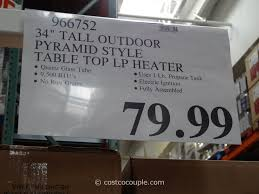 tall propane patio heaters patio heaters costco outdoor goods