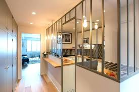 cloison vitree cuisine separation de cuisine en verre cloison de verre cration du0027une