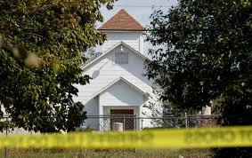 deadliest church shooting in american history kills at least 26