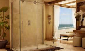 shower sensational average cost of frameless shower door