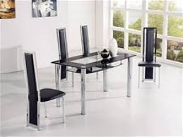 Glass Dining Room Furniture Sets Dining Roomle And Chairs For People Glass Round 4dining Sets Inch
