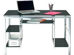 bureau en verre bureau conforama verre lovely bureau 1 porte 1 tiroir moby coloris