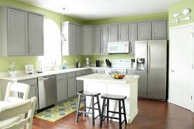 Grey And Green Kitchen Gray Kitchen Cabinets With Green Walls U2013 Quicua Com