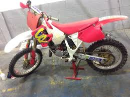evo motocross bikes honda cr 125 evo red rocket motocross bike 125cc 250cc 85cc yz rm