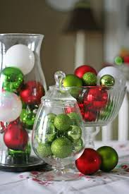 put ornaments in vases for easy decorating heart home