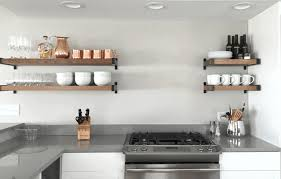 shelves kitchen cabinets shelves marvelous open shelf kitchen cabinets sleek white round