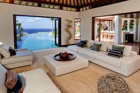 Bali Style Home Decor Villa Chintamani Pool Side Sitting Room Perfect To Enjoy A