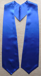 custom stoles royal blue graduation stoles sashes as low as 3 99 high