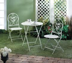 white patio bistro trio wholesale at koehler home decor