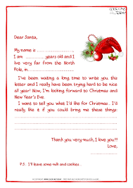 letters from santa claus sle letters from santa letter of recommendation
