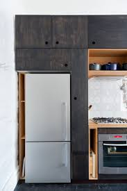 Natural Birch Kitchen Cabinets by Remodeling 101 Cutout Cabinet Pulls Remodelista