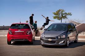 2013 chevrolet sonic rs revealed inside and out