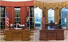 Oval Office Desk Oval Office Renovation The White House Redesign