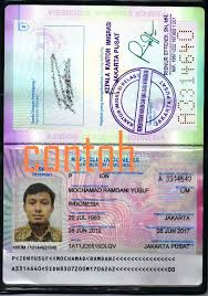 membuat prosedur paspor prosedur pembuatan paspor baru perorangan mochamad ramdani