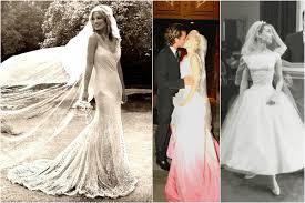 Celebrity Wedding Dresses Celebrity Wedding Dress Inspiration