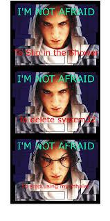 Afraid Meme - not afraid meme