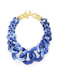 statement chain necklace images Zenzii positively radiant link statement necklace resin n1488 jpg
