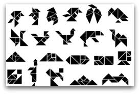 tangram puzzles tangrams activities shapes designs solutions and templates