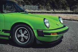 green porsche 911 1974 porsche 911 carrera 2 7 is lime green dream for rm monterey 2015