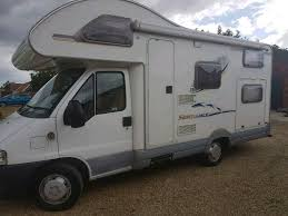 fiat ducato 600b sundance motorhome with removable heavy duty