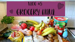 vlog grocery u0026 goodiebag haul new home decor youtube