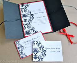 and black wedding invitations black and white wedding invitation