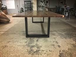 custom the goliath live edge walnut dining table draft by
