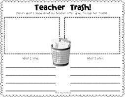 what u0027s in my teacher u0027s bag making inferences inference teacher