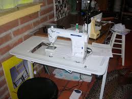 Portable Sewing Table by Ed Raichert U0027s Sewing Machines U2013 Clareannette