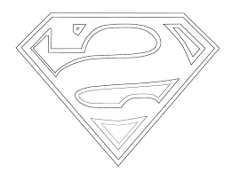superman logo coloring pages vector pictures free vector art