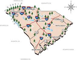 South Carolina national parks images Congaree national park official park map congaree national park jpg