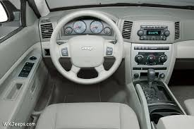 Jeep Cherokee Sport Interior Jeep Grand Cherokee Wk Exterior And Interior Colors