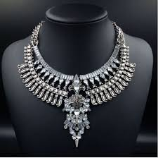big chain necklace silver images 2015 tribal chunky silver gold body chain spike big pendant jpg