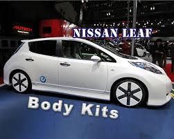 nissan leaf body kit modified nissan leaf youtube