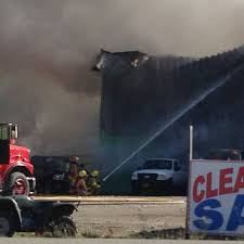 Fires Near Alaska by Meadow Lakes Auto Shop Destroyed In Friday Afternoon Fire Local