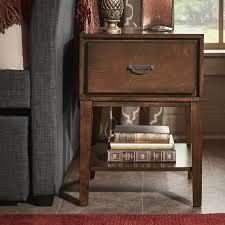 three posts richboro 1 drawer nightstand u0026 reviews wayfair