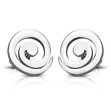 most hypoallergenic earrings spiral stud hypoallergenic earrings uk solace jewellery ltd