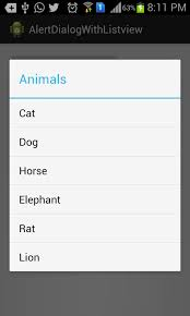 dialog android how to show listview in android alertdialog