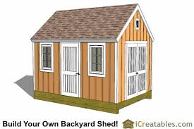 Making Your Own Shed Plans by 10x14 Gable Shed Plans Icreatables Sheds